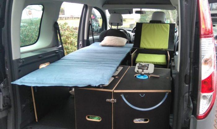 Aménagement Voiture En Camping Car nomad-addict – ne choisissez plus entre une belle voiture et un