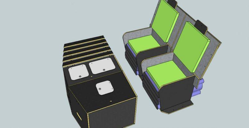 dormir dans sa voiture amenagement lit nomad addict kit nomad 7 nomad addict. Black Bedroom Furniture Sets. Home Design Ideas