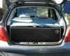 Aménagement pour installer un lit et dormir dans son véhicule : sa voiture , son fourgon, son camion par Nomad-Addict : Le Kit Duo ici dans une Peugeot 208